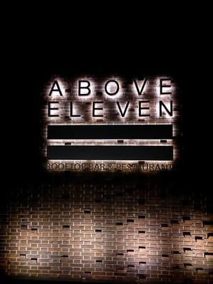 Above Eleven Rooftop Bar & Restaurant @Movenpick Resort & Spa Jimbaran - バリ島 レストラン巡り