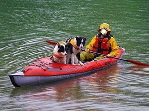 奥会津でカヌー遊び -