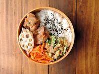 6/30(金)鶏のタレチーズ和え弁当 - おひとりさまの食卓plus