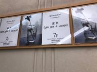 エスカレーターで上がって来よう!2017.06.28 → 07.04 夏色 gla_gla + usapi @神戸大丸 メゾンプリュスレコメンド - glass cafe gla_glaのグダグダな日々。