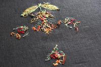 刺繍作品の裏側 - ビーズ・フェルト刺繍作家PieniSieniのブログ