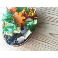 パクチー盛り野菜炒めBENTO - Feeling Cuisine.com
