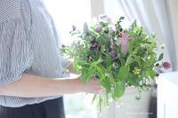Le vase 15th Anniversary スペシャルコラボイベント  ハーブブーケ編 - Le vase*  diary 横浜元町の花教室