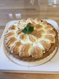 レモンメレンゲタルトレッスン - 調布の小さな手作りお菓子・パン教室 アトリエタルトタタン
