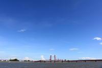 筑後川昇開橋(6)。 - 青い海と空を追いかけて。