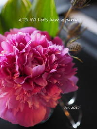 8月のレッスン、開催期間が決まりました♪ - ATELIER Let's have a party ! (アトリエレッツハブアパーティー)         テーブルコーディネート&おもてなし料理教室