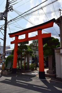 太平記を歩く。 その89 「松尾稲荷神社」 神戸市兵庫区 - 坂の上のサインボード