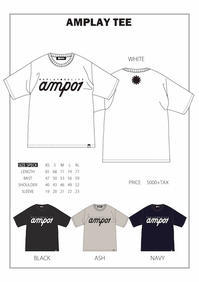 SPECIAL PRODUCT amplayTEE - amp [snowboard & life style select]