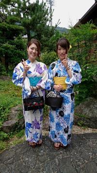 2017.7.4 お客様のご紹介です♪ - 伊勢のレンタル着物 夢小町のブログ