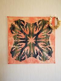 ヤシの木のハワイアンキルト - eri-quilt日記2