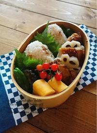 7.4 照り焼きチキンと梅むすび弁当 - YUKA'sレシピ♪