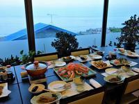 """北海道【知床羅臼の宿 まるみ】①:バイキング+セットメニューで、山と海の幸をたらふく味わおう (Seafood dinner at Marumi Hotel Shiretoko-Rausu) - """"Life in 東京"""" 日英バイリンガルブログ"""