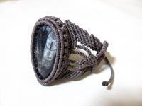 【マクラメ&ヘンプ】#133 直角石のブレスレット - Shop Gramali Rabiya (SGR)