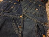 """7月5日(水)大阪店ヴィンテージ&スニーカー入荷!!#6 Work編!VintageDenimOverall&NOS""""Lee""""!! - magnets vintage clothing コダワリがある大人の為に。"""