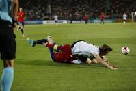 U21ドイツ対U21スペイン(於:Krakow) - MutsuFotografia blog