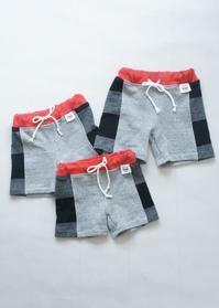 size90&100&110 hibi+さんの切り替えショートパンツ - ハンドメイドで親子お揃い服 omusubi-five(オムスビファイブ)