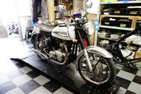 1960NORTON650SS シリンダー・シリンダーヘッド分解・計測作業 - Vintage motorcycle study