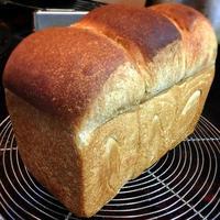 梅酵母で黒糖山食 - nao's daily bread