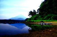 29年6月の富士(31)精進湖の富士 - 富士への散歩道 ~撮影記~