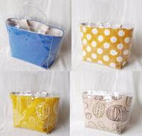 ダイソーのクリアバッグにすっぽり入るミニトート - 毎日がお裁縫日和