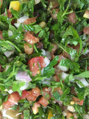 Tabbouleh  2017 July 5th - Cooking