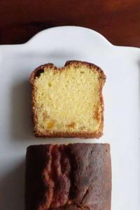 オレンジのパウンドケーキ&オレンジのサブレ - Baking Daily@TM5