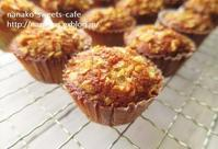 クルミと栗のミニマフィン - nanako*sweets-cafe♪