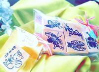 セミオーダーはんこ - momo*poele 旅する料理レッスン&消しゴムはんこ製作中(佐久市)