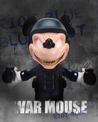 ウォー・マウス第3弾で最後のライオットブルー版、近日入荷 - 下呂温泉 留之助商店 店主のブログ