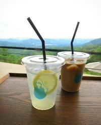 天空カフェ・アウラ * 梅雨の晴れ間に久しぶりにお伺いしました♪ - ぴきょログ~軽井沢でぐーたら生活~