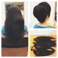 ヘアドネーションにご協力頂いたH様! - 東京都荒川区にある尾久駅前の美容室 WEST HAIR DESIGNのブログ