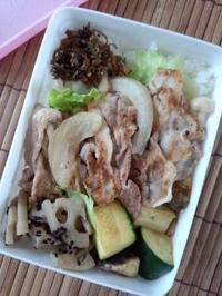 豚肉の生姜焼き弁当 - 東京ライフ