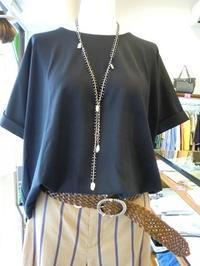 夏のブラックTシャツ・・・・・・☆ - 今日のdureine