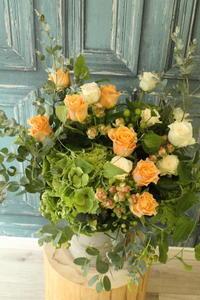 ご結婚祝いの花  - 北赤羽花屋ソレイユの日々の花