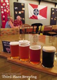 Grouponでお得にビール♪@Third Place Brewing - Kyoko's Backyard ~アメリカで田舎暮らし~