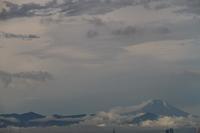 雲が湧く - お散歩写真     O-edo line
