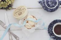 メレンゲ焼き菓子作りました - お菓子教室*Blue Kitchen*便り ~ a pleasant blue kitchen ~