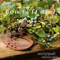 BOIS DE  FLORA  vol.8 - ecru-diary