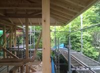 生駒山の家 進捗状況6 - 国産材・県産材でつくる木の住まいの設計 FRONTdesign  設計blog