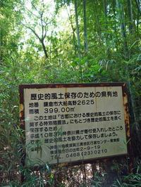 六国見山の神奈川県所有の荒れた竹林整備を申請7・7  - 北鎌倉湧水ネットワーク