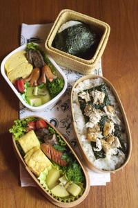 6月の高校生弁当と代替給食【後半】 - peddyのくまちゃん カメラを持って。