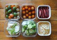 イエシゴトVol.222 今週の作りおき2と追加の梅シゴトと野菜の冷凍術 - YUKA'sレシピ♪