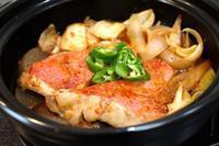 韓国風 金目鯛とキムチの煮付け - キムチ屋修行の道