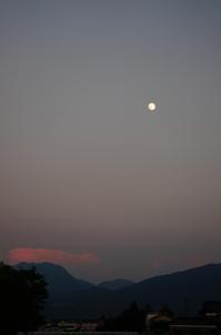 七夕の月は・・・ - きょうから あしたへ その2