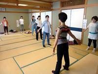 6月16日、29日 骨盤ケア体操教室を開催しました - 子育てサークル たんぽぽの会