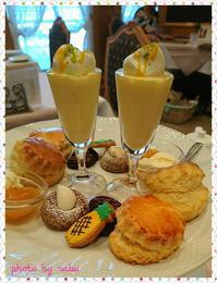梅田でお手軽アフタヌーンティーにいくなら♪ - ずっと飾って楽しめる♪シュガークラフトケーキ作家 らぶのブログ