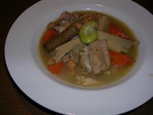 鶏肉とひよこ豆の煮物 - ふみノート