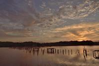 夜明け @ 水上池 - 東大寺が大好き