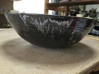 虹彩天目釉大鉢 - 陶芸の技法とレシピ 第3章