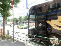 """中国の夏休みが始まり、ツアー客も少し増えてきたようです(ツアーバス路駐台数調査 2017年7月) - ニッポンのインバウンド""""参与観察""""日誌"""